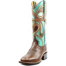 Leather Medium Width (B, M) Cowboy, Western Boots for Women