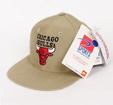 Vtg 90s Era Chicago Bulls Sports Specialities 6 panel hat cap snapback NEW