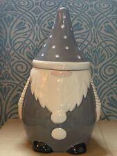 Next Ceramic Novelty Gonk Treat Jar Gnome Santa Cookie Biscuit Storage Xmas Rare