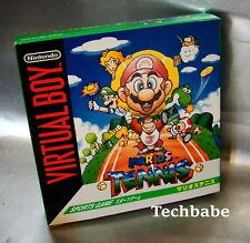 Brand New Nintendo Virtual Boy MARIO TENNIS factory fresh JP/US SALE