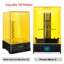 ANYCUBIC 4K LCD Photon Mono X Impresora 3D||Wash and Cure 2.0 Machine Light Cure