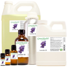 Lavender Essential Oil by GreenHealth Sizes 5ml - 1GAL