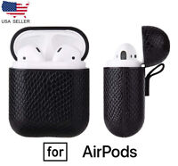 For Apple AirPods 2 Case Leather Protective Cover Birthday Gift for Men Women