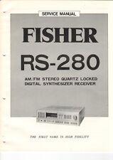 Fisher-rs-280 - Service Manual-Schéma pour émetteur-b6937