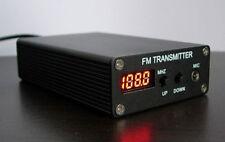 New 5W Stereo PLL Digital FM Transmitter Mini FM Radio Station Fm broadcast