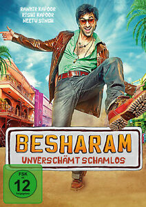 BESHARAM  / UNVERSCHÄMT SCHAMLOS Bollywood DVD  Ranbir Kapoor Erscheint  24.9.
