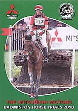 MITSUBISHI MOTORS - BADMINTON HORSE TRIALS 2010 NEW DVD