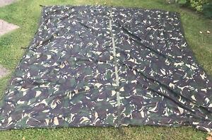 Genuine British Army Issue DPM Camo Shelter Basha Sheet Tarp Military FIELDGEAR