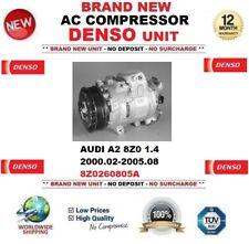 Denso CA COMPRESOR AUDI A2 8z0 1.4 2000.02-2005.08 NUEVO 8z0260805a