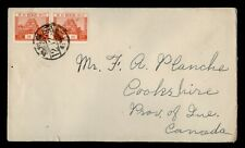 DR WHO 1938 JAPAN COVER PAIR TO CANADA  f54302