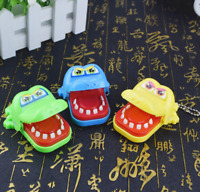 Funny Big Crocodile Mouth Dentist Bite Finger Toy Family Game For Kids Xmas Gift