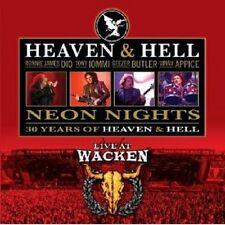 "HEAVEN & HELL ""NEON NIGHTS - LIVE AT WACKEN"" CD NEU"