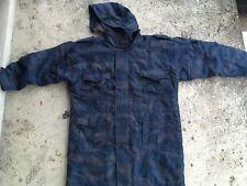 Bosnian Serb Army blue purple tiger stripe camouflage jacket Serbia Serbian coat