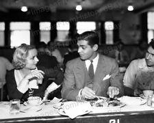 8x10 Print Clark Gable Carole Lombard #5501146