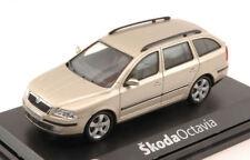 Skoda Octavia Combi 2004 Sahara Beige Metallic 1:43 Model ABREX