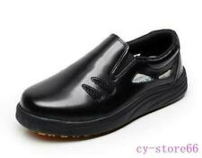 Womens Unisex Kitchen Slip On Work Cook Chef Anti-Slip Waterproof Shoes Oversize