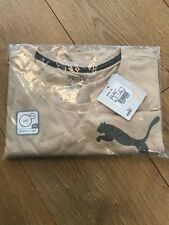 Puma Essential No. 1 T-shirt Pebble Beige Small Training Runners Active