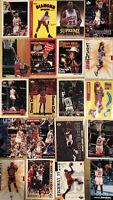 Lot of 10 Michael Jordan Base Insert Lot Cards No Dupes SP 90s Investor BGS PSA