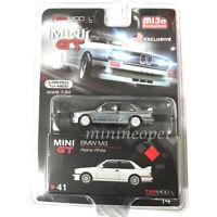 MINI GT MGT00041 BMW M3 E30 1/64 DIECAST MODEL CAR Chase