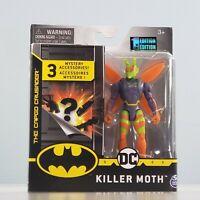 "Spin Master Batman - Killer Moth [1st Edition] 4"" Action Figure + 3 Accessories"
