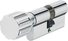 Abus ECK550 Knaufzylinder mit 3 Wendeschlüssel Schließzylinder Türzylinder