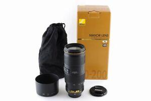[Mint In Box] Nikon AF-S NIKKOR 70-200mm F/4 G ED VR Lens From Japan #209