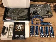 XFX AMD R9 380X DD XXX OC 4GB + ASRock H81 Pro BTC R2.0 ETH GPU + 6 PCIe Risers