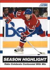 2010-11 Score Glossy Hockey Card Pick