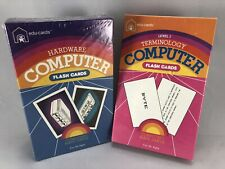 Vintage Computer Terminology And Hardware Flash Cards Gag Gift Sealed