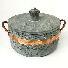 Brazilian Soapstone Semi-pressure Cooker, Panela de Pedra-Sabão