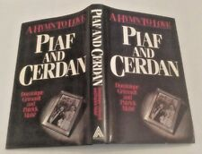 Piaf and Cerdan A Hymn To Love First Edition 1984