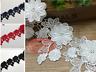 HB72 1 Yard Lace Trim Ribbon Wedding Dress Embroidered Sewing Applique Craft DIY