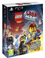 NEW & SEALED! The Lego Movie Video Game Sony Playstation 3 PS3 Game, Mini Figure