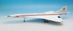 INFLIGHT 200 IFCONC0916 1/200 CONCORDE AMERICAN AIRLINES N557AA WITH STAND