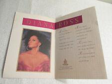 New ListingDiana Ross Live At Trump Taj Mahal Concert Brochure Atlantic City New Jersey