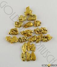 Goldnugget aus Alaska direkt vom Schürfer GN25S1 Münze,Barren Weihnachtsgeschenk