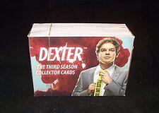 DEXTER Season 3   Complete Set of Trading Cards The Third Season