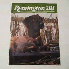 NOS VINTAGE 1988 REMINGTON FIREARMS AMMO CLOTHING ACCESS. ADVERTISING CATALOG