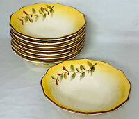 """8 Better Homes & Gardens TUSCAN RETREAT 7 3/4"""" SOUP CEREAL BOWLS"""