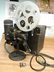 Vintage 16 Mm Movie Film Projector Bell And Howell Filmo Cine With Case