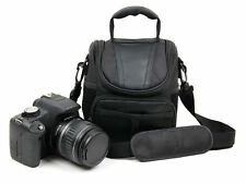 Black Water-Resistant Carry Case For Nikon D500 Camera - with Detachable Strap