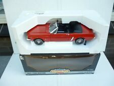 Vintage Big  Ford Mustang Convertible Open Top 1964 Red  Black 1:12 Ertl TOP!!!!