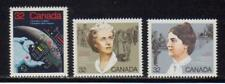1985 Canada SC# 1046-1048 - Canadians in Space,Feminists Lot# 158 M-NH