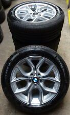 4 RUOTE COMPLETO BMW Styling 308 245/50 r18 100v PIRELLI RSC x3 f25 x4 f26 Rdk!