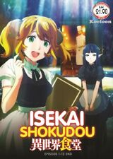 DVD Anime Isekai Shokudou /Restaurant To Another World Series (1-12) English Sub