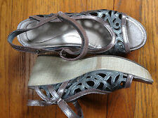 Naot 37 US 6 Leather Women's Sassy Sandals