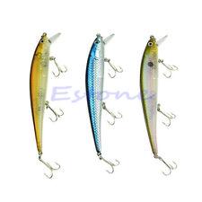 1pc 15cm 20g Sinking Fishing Lure Crankbait Crank Bait Bass Tackle Treble 3 Hook
