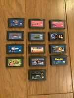 Lot Of 13 GameBoy Advance Games (Nintendo GameBoy Advance, GBA)
