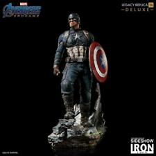Iron Studios Avengers End Game Captain America Deluxe 1/4 Scale Statue