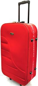 """28"""" 2 Wheel Large Super Lightweight Durable Hold Travel Luggage Trolley Suitcase"""